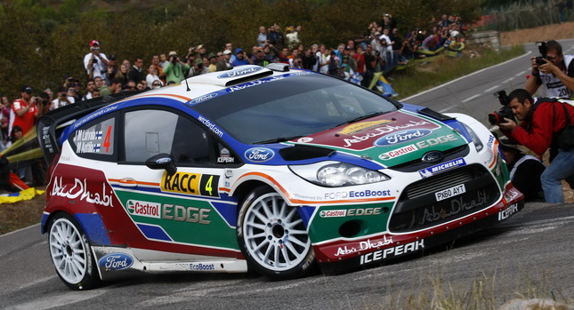 Powell will drive for Ford M-Sport at Rally Spain 2012!