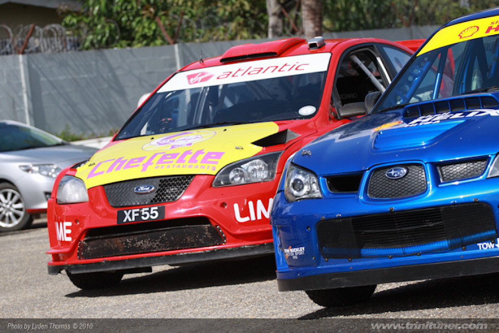 Rally Trinidad 2010 – Scrutineering
