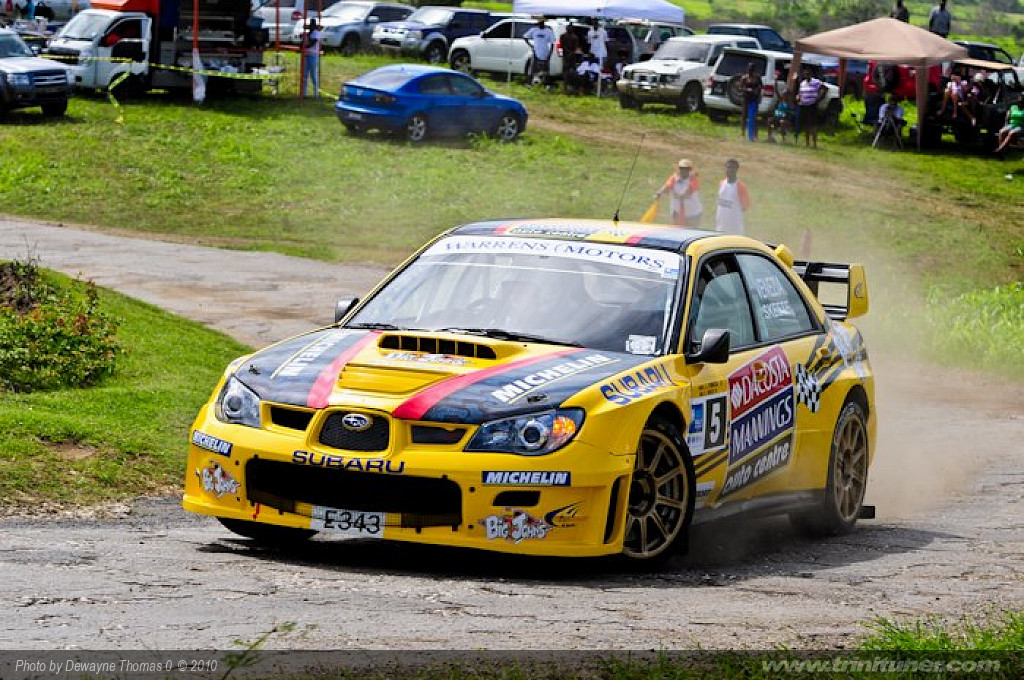 Rally Barbados 2010 – Day 1