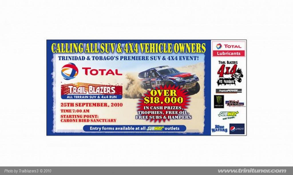 Total Trail Blazers – All Terrain SUV & 4×4 run!