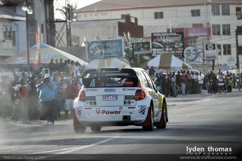Rally Trinidad 2011 Mayor's Cup Saith Park