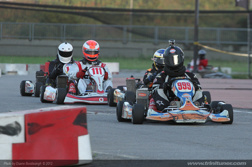 TTKA Karting Finals 2012 at Brian Lara Stadium