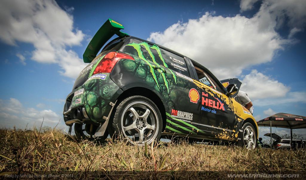 Rally Trinidad 2014 – Pre event testing