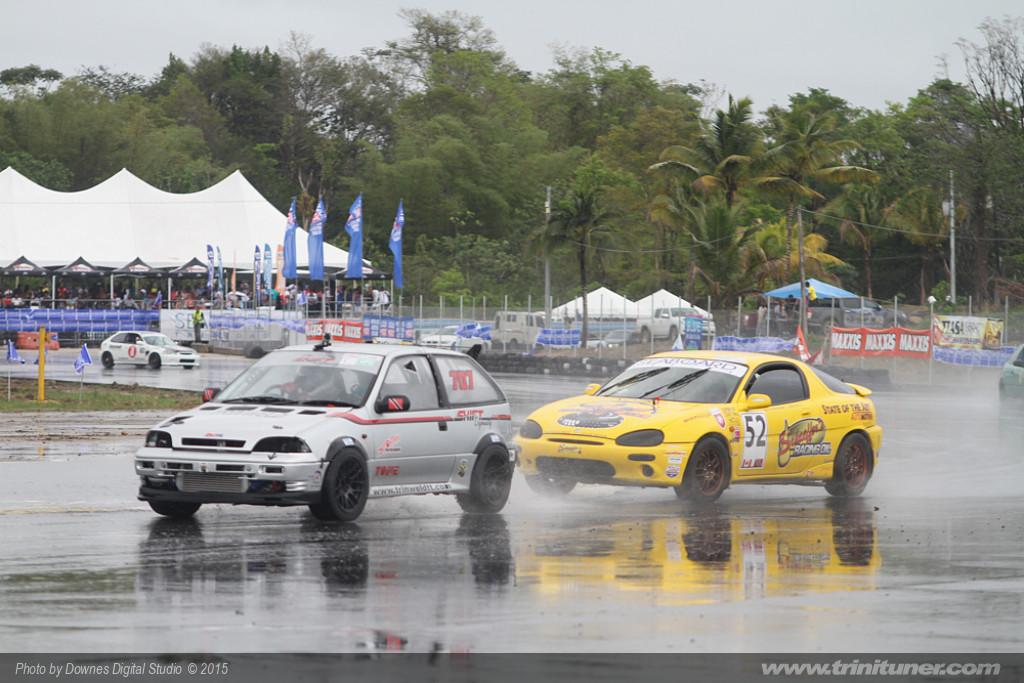 Guyana Race Car Driver Roshandin Pic