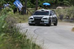 Sol Rally Barbados Day 2,SS 5 'Springvale'  Brian Watson – SCO/Caroline Will - SCO (WRC-2 Mitsubishi WRC Replica),Image:Nicholas Bhajan Rally Photography