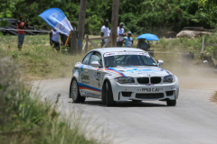 Sol Rally Barbados Day 2,SS 5 'Springvale'   Martin Stockdale - ENG/Gary Miller – ENG (SM3 Divi Southwinds Beach Resort/Drive-a-Matic/Canems Engine Management/Quarry Motors BMW 1M Coupe),Image:Nicholas Bhajan Rally Photography