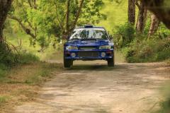 Sol Rally Barbados Day 2,SS 7 Canefield' Roger Duckworth - ENG/Alun Cook - WAL (WRC-2 Intrinsys Subaru Impreza WRC S6) ,Image:Nicholas Bhajan Rally Photography