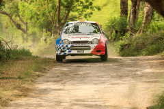 Sol Rally Barbados Day 2,SS 7 Canefield' Roger Hill/Graham Gittens (WRC-2 Esso/Nassco/MaxMeyer/MotorMac/Pennzoil Toyota Corolla WRC,Image:Nicholas Bhajan Rally Photography