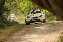Sol Rally Barbados Day 2,SS 7 Canefield'      Kenny Hall - SCO/Fenny Wesselink – NED (M1 Halltune Garage/F & Co Hair Stylists/The Sporting Pig Sports Bar & Restaurant/Time Out Hotel Ford Puma S1600),Image:Nicholas Bhajan Rally Photography