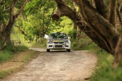 Sol Rally Barbados Day 2,SS 7 Canefield'      George Sherman - USA/Anthony Sherman - USA (GpN Subway/Zanzibar/Kaizan Sushi Mitsubishi Lancer Evo IX),Image:Nicholas Bhajan Rally Photography
