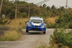 Sol Rally Barbados Day 2,SS 9 'Lamberts'    Rob Swann – ENG/Darren Garrod - WAL (WRC-1 Elegant Hotels/Blue Sky Luxury/Cygnet Plant Subaru Impreza WRC S12B),Image:Nicholas Bhajan Rally Photography