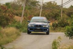 Sol Rally Barbados Day 2,SS 9 'Lamberts'    David St Hill/Ian Grimes (SM3 St Hill & Sons Garage BMW M3),Image:Nicholas Bhajan Rally Photography