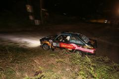 Sol Rally Barbados Day 1:Andrew Jones/Lindsey Pilkington – ENG (SM3 Lucozade/Caribbean Powder Coating/AP Jones Pharmacy/Southern Surf Beach Apartments Ford Escort MkII) )Image:Nicholas Bhajan Rally Photography
