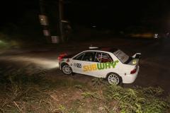 Sol Rally Barbados Day 1:David Coelho – TRI/James Harris – ENG (GpA Subway/Zanzibar/Kaizan Sushi Mitsubishi Lancer Evo IX)Image:Nicholas Bhajan Rally Photography