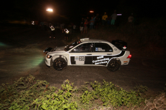 Sol Rally Barbados Day 1: Brian Watson – SCO/Caroline Will - SCO (WRC-2 Mitsubishi WRC Replica).Image:Nicholas Bhajan Rally Photography