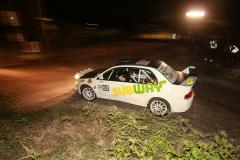Sol Rally Barbados Day 1:George Sherman - USA/Anthony Sherman - USA (GpN Subway/Zanzibar/Kaizan Sushi Mitsubishi Lancer Evo IX),Image:Nicholas Bhajan Rally Photography