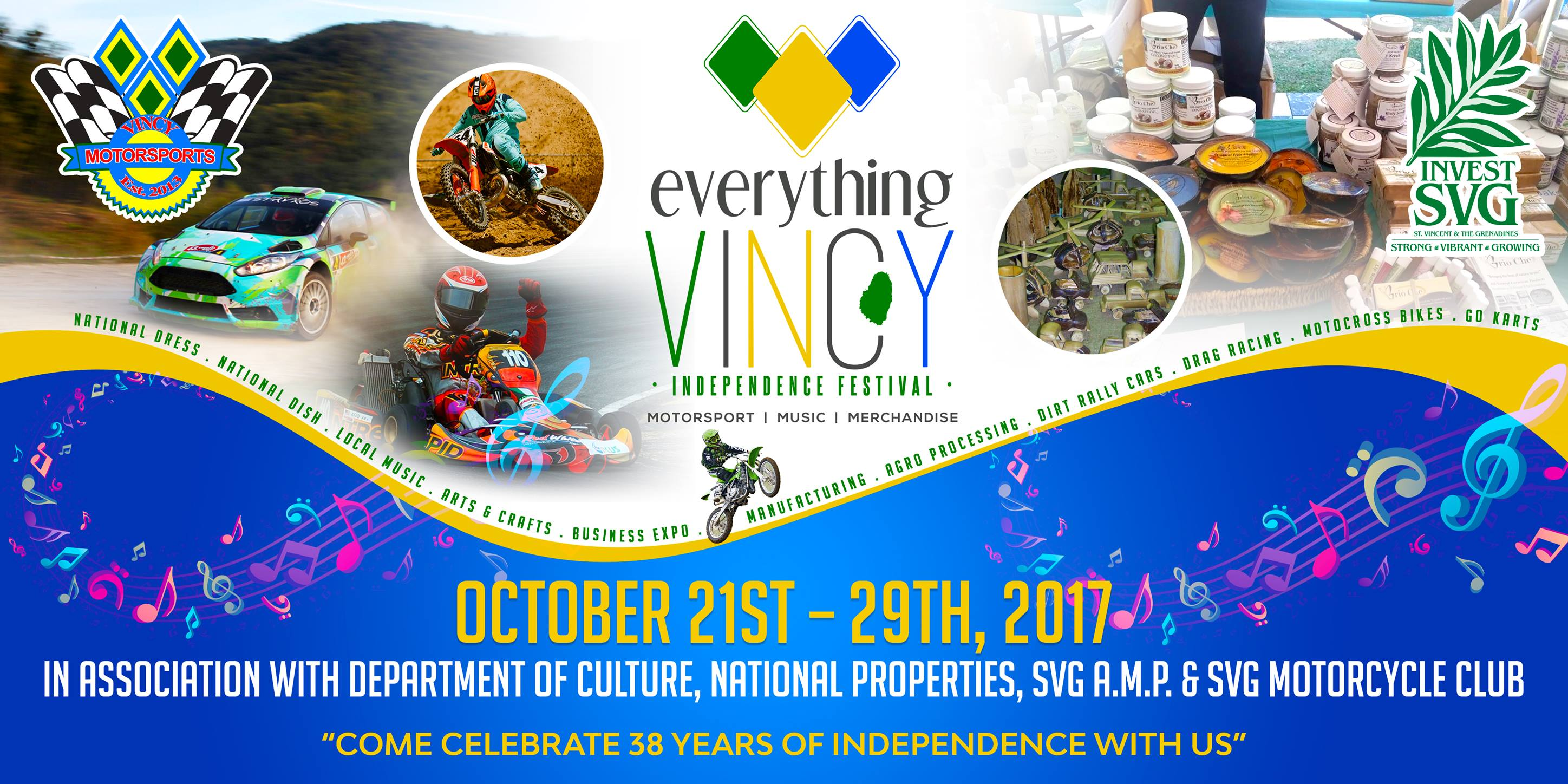 Everything Vincy Independence Festival