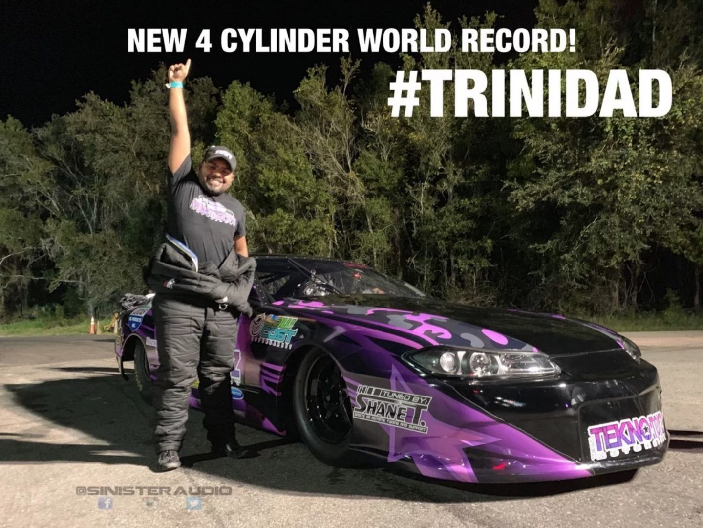 Trini Sets New World Record For Fastest 4cyl